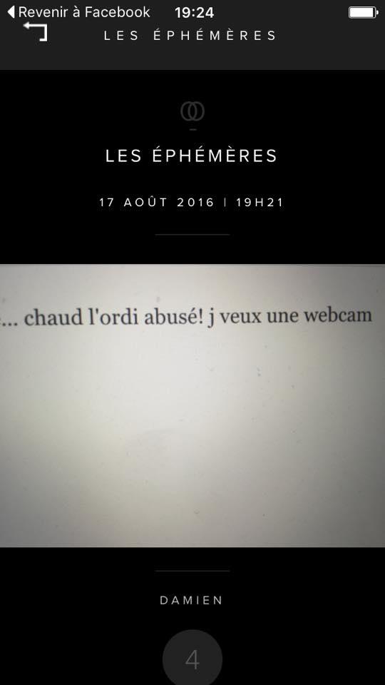Ephémère de Damien 17-aout-19h21