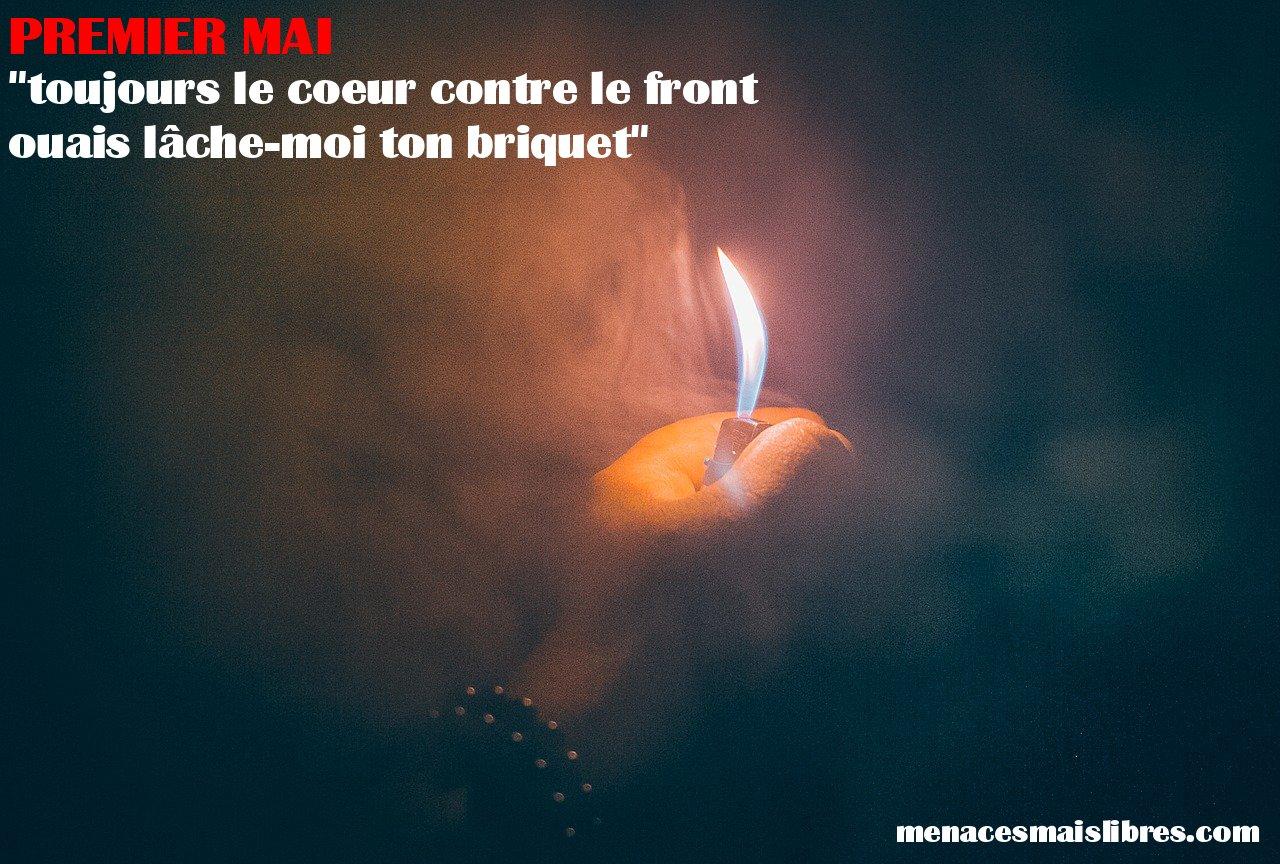 """Briquet - """"Premier Mai"""""""