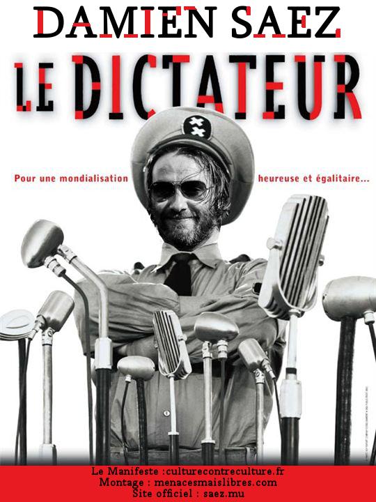 """Parodie """"Le dictateur"""" (de Charlie Chaplin)"""