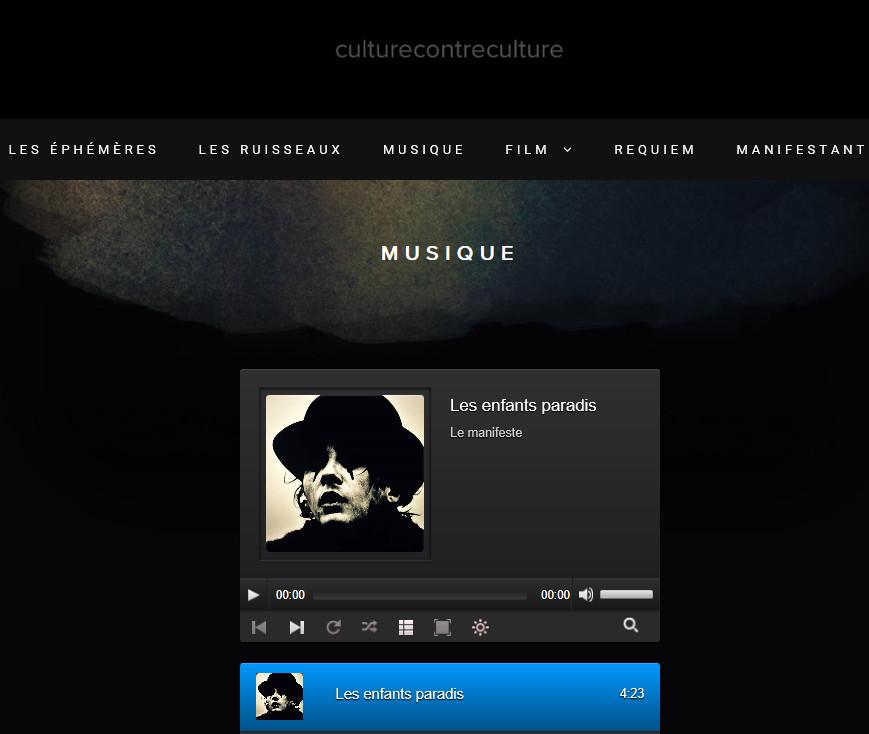 Ajout onglet musique et film