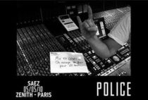 chanson Police dans le studio damien Saez