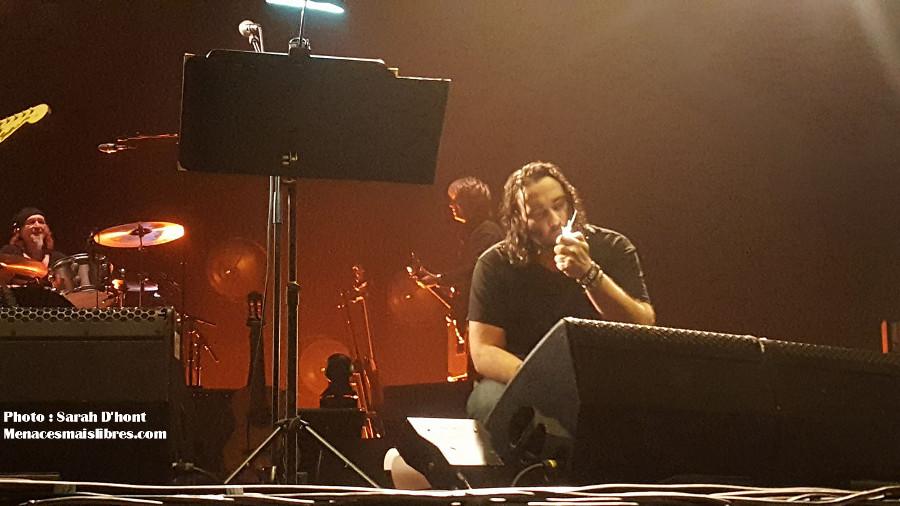 entracte damien Saez Rockhal 2017 photo tournée