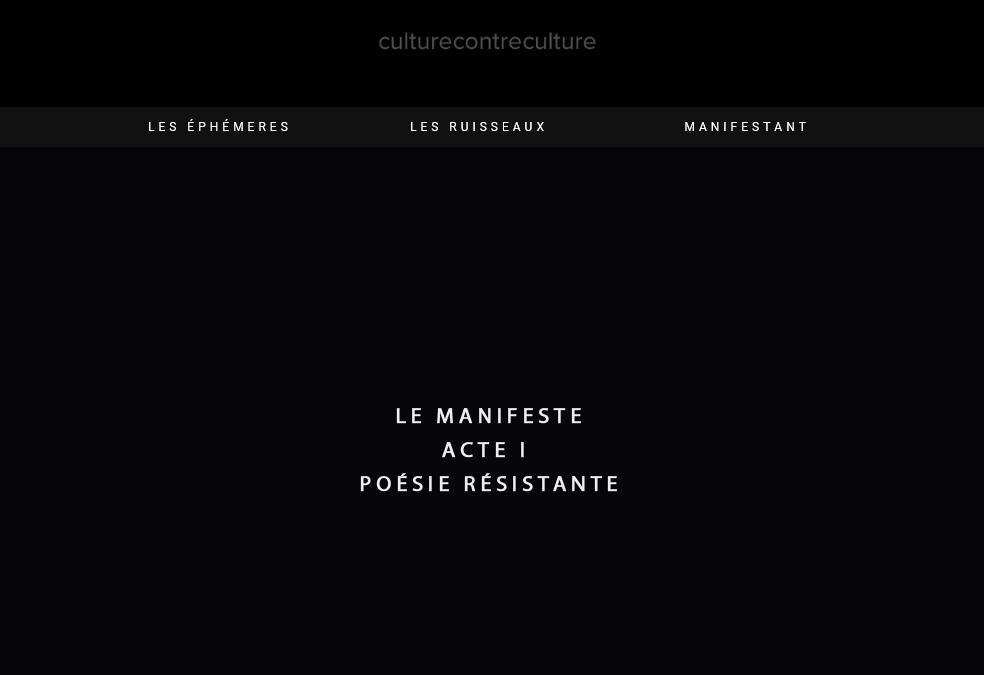 Manifeste Damien Saez décor site