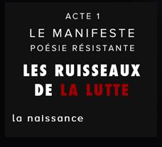 Ruisseaux de la Lutte - Manifeste Damien Saez